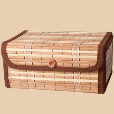 Подарочный набор в бамбуковом сундуке (молотый  250г + Цейлон 200г)