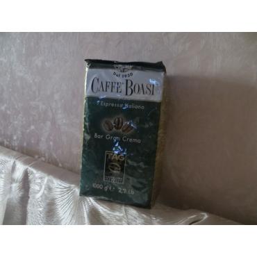 Итальянский кофе в зернах Boasi Gran  Crema,1 кг