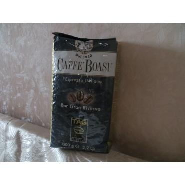 Итальянский кофе в зернах Boasi Gran Riserva,1 кг