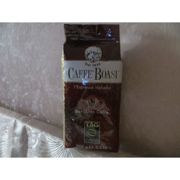 Итальянский кофе в зернах  Boasi Gran Caffe Ristora ,1 кг