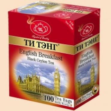 Английский завтрак,100 шт.