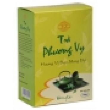Вьетнамский зеленый чай Ca Phe Phunong Vy(Фон Ви) с лепестками жасмина в коробке ,250 Г