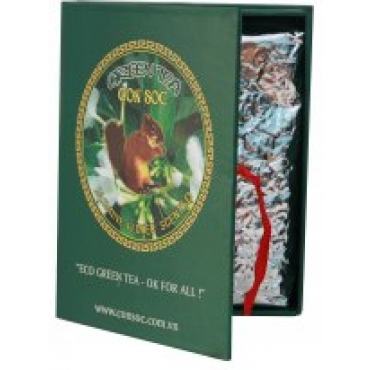 """Вьетнамский зеленый чай """"Белочка"""" с жасмином в подарочной упаковке,300г"""