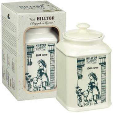 """Чай Хилтоп (Hilltop) в керамической чайнице """"1001 ночь"""",125 г"""