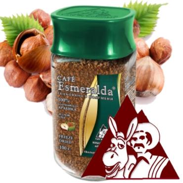Сублимированный кофе ЛЕСНОЙ ОРЕХ,100г Напиток с интенсивным послевкусием лесного ореха и сладким ароматом. Обжарен и упакован в Колумбии.