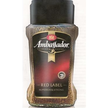 Ambassador  Red  Label  95 g растворимый
