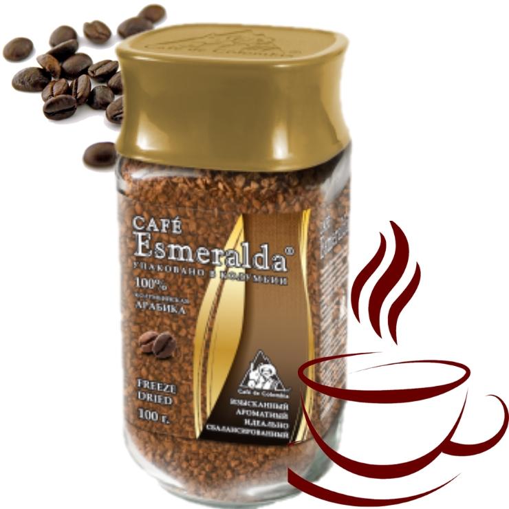 Классический сублимированный кофе, 200 г Напиток с завораживающей винно-фруктовой кислинкой и мягким вкусом. Обжарен и упакован в Колумбии.