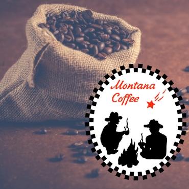 Кофе В ЗЕРНАХ свежей обжарки Монтана