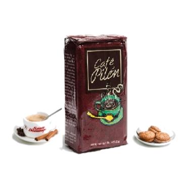 Pilon-доминиканский 100% органический молотый кофе, 453.6 г Упаковано в Доминикане