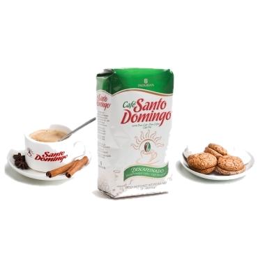 Без кофеина Santo Domingo -доминиканский 100% органический молотый кофе, 453.6 г Упаковано в Доминикане
