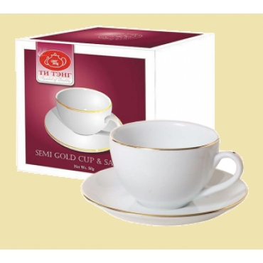 Черный цейлонский чай с чайной парой
