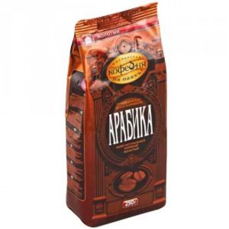 """Кофе в зернах Арабика """"Кофейня на паях"""",500г"""