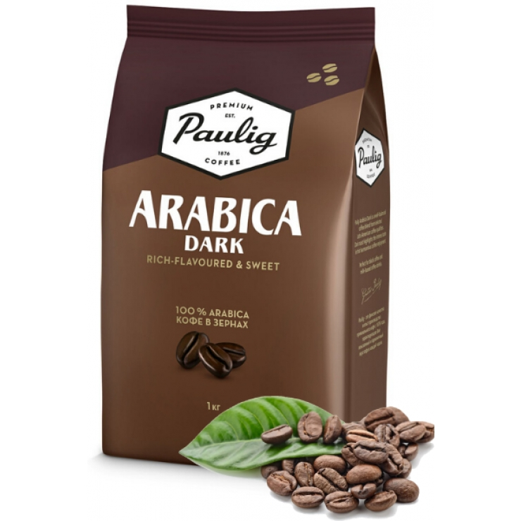 100%  арабика  темной  обжарки