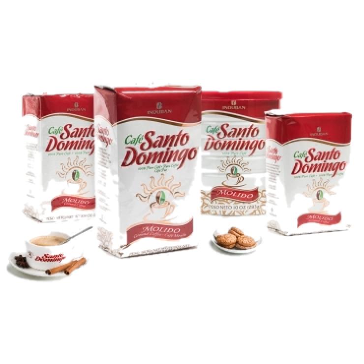 Santo Domingo - доминиканский 100% органический молотый кофе, 453.6 г  Без горечи, без кислотности. Упаковано в Доминикане.