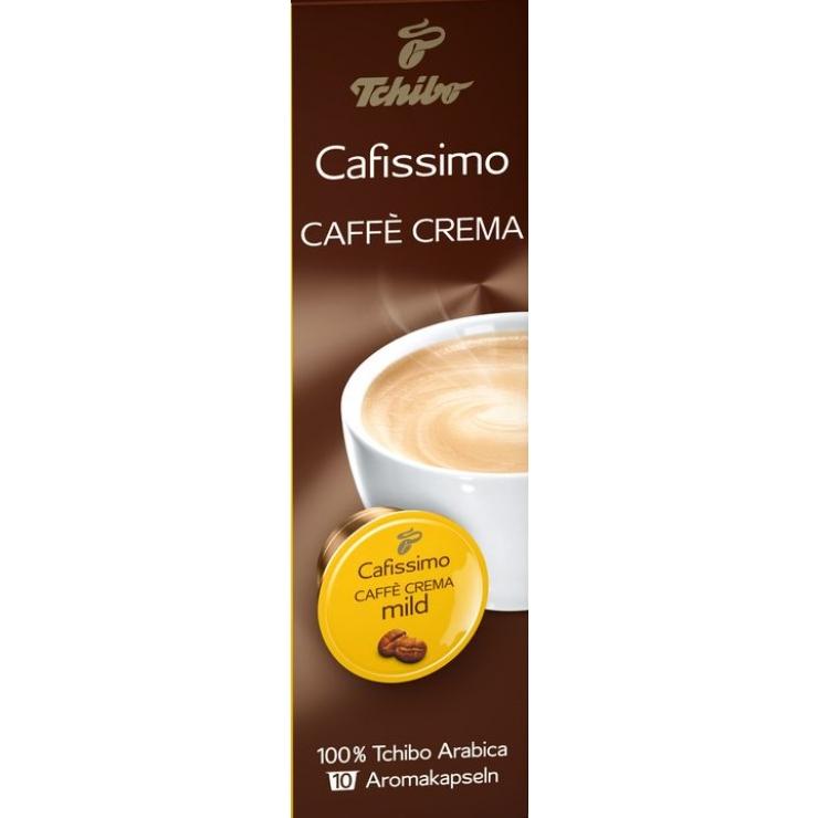 Caffe crema mild,10*7г